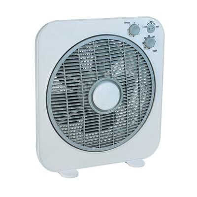 Ventilatore a parete o a soffitto EQUATION TX-1209B bianco 40 W Ø 30 cm
