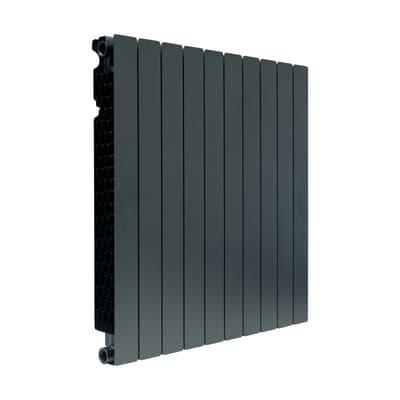 Radiatore acqua calda PRODIGE Modern in alluminio 10 elementi interasse 80 cm