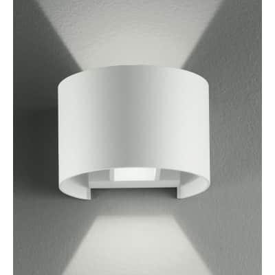 Applique Delta LED integrato in alluminio, bianco, 3W 500LM IP54