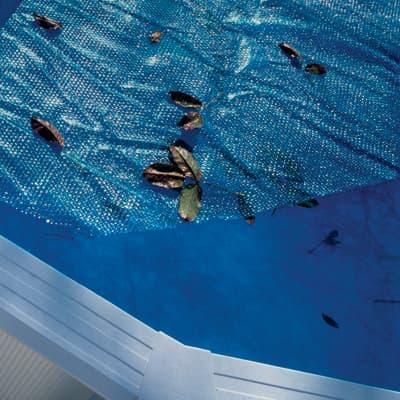 Copertura per piscina a bolle NATERIAL CV241NAT in polietilene 245 x 245 cmØ 245 cm