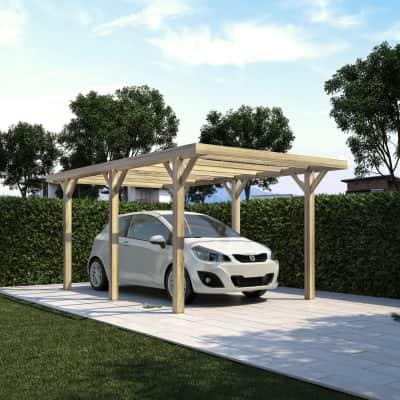 Carport in legno FirenzeL 512  x P 304  x H 233