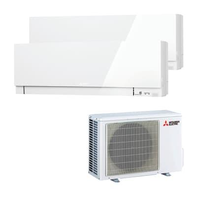 Climatizzatore dualsplit MITSUBISHI Kirigamine Zen bianco 12000 BTU classe A++