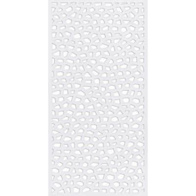 Traliccio fisso in pvc Mosaic L 100 x H 200 cm, Sp 50 mm