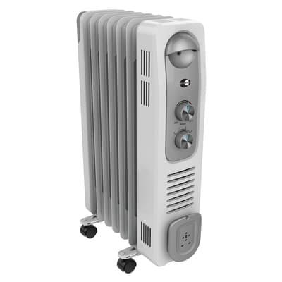 Radiatore ad olio EQUATION bianco 1500 W