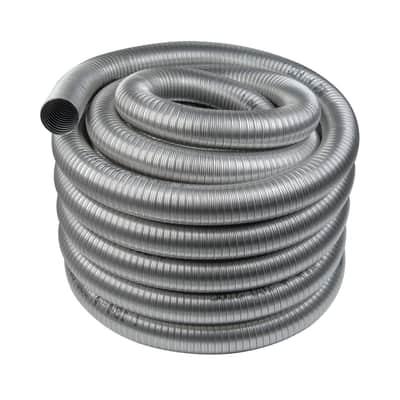 Tubo Rotolo da 30 m. di Tubo flessibile inox aisi 316L Dn 80 mm in inox 316l (elevata resistenza in condizioni climatiche estreme) Ø 80 mm