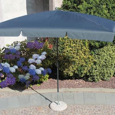 Ombrellone Poli L 2.6 x P 1.5 m grigio