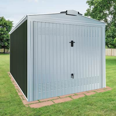 Garage in acciaio al carbonio Orlando SAPIL 17.3 m², Sp 0.6 mm