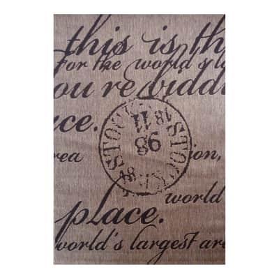 Tappeto Cottage poesia multicolor 300x200 cm