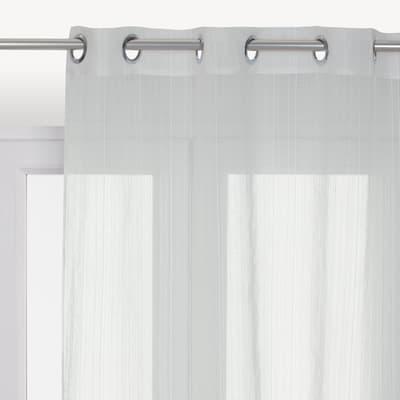 Tendine Pronto INSPIRE Lolita bianco occhielli 140 x 280 cm