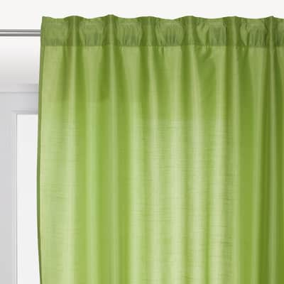 Tenda INSPIRE Newsilka verde nastro tenda con anse nascoste 200.0 x 280.0 cm