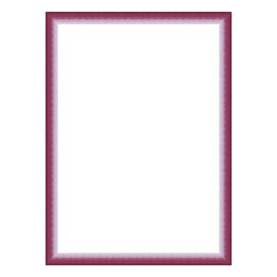 Cornice INSPIRE Bicolor fucsia per foto da 24x30 cm