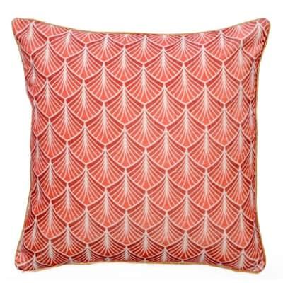 Cuscino Perrine rosa 45x45 cm