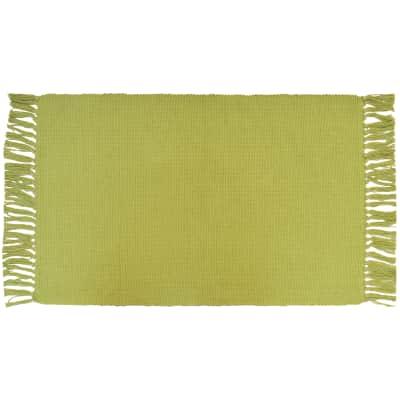 Tappeto Cucina Basic verde 80x50 cm