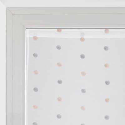 Tendina vetro Chloe bianco tunnel 60 x 140 cm
