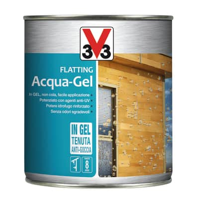 Flatting liquido V33 Acqua-Gel 0.75 L incolore lucido