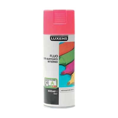 Smalto spray LUXENS Fluo rosa fluorescente 0.0075 L