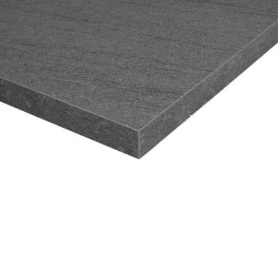 Piano cucina su misura in truciolare Pietra Lavica grigio scuro , spessore 2 cm