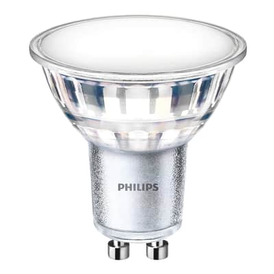 Lampadina LED GU10 riflettore bianco freddo 5W = 550LM (equiv 50W) 120° PHILIPS
