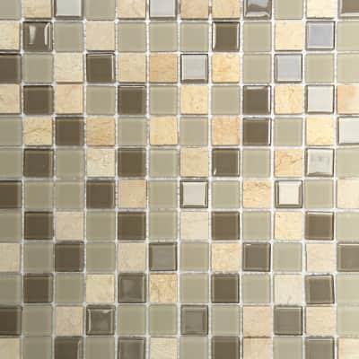 Mosaico Simply Beige H 30 x L 30 cm beige