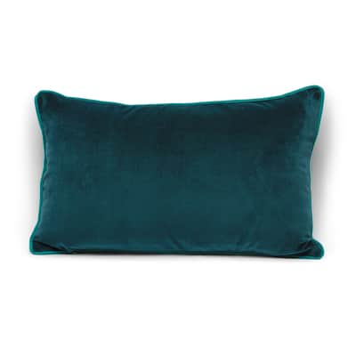 Cuscino Velluto verde 50x30 cm