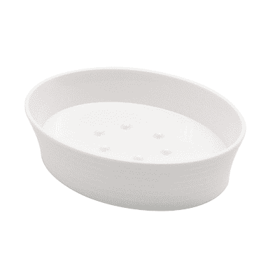 Porta sapone Gom bianco