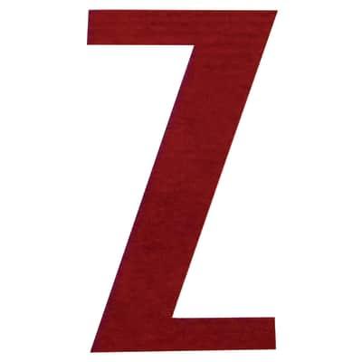 Lettera Z adesivo, 10 x 6 cm