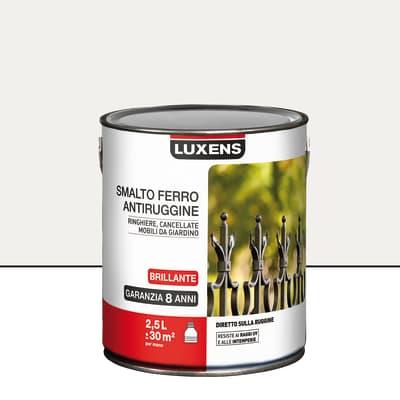 Smalto antiruggine LUXENS bianco 2.5 L