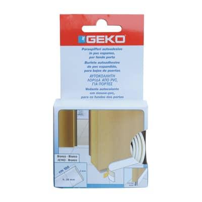 Guarnizione sottoporta Geko adesivo bianco