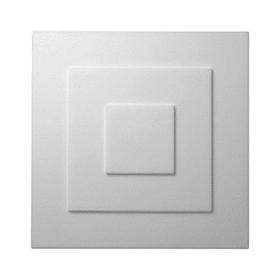 Decorazione per rosone da soffitto Yvonne L 32 x H 32 cm Sp 8 mm
