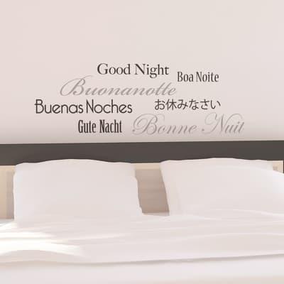 Sticker Goodnight 47x67 cm
