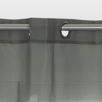 Tendine Pronto INSPIRE Polyone grigio occhielli 140 x 280 cm