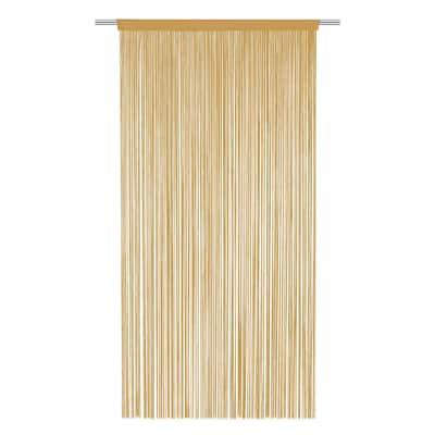 Tenda Spaghetti beige tunnel 140 x 270 cm