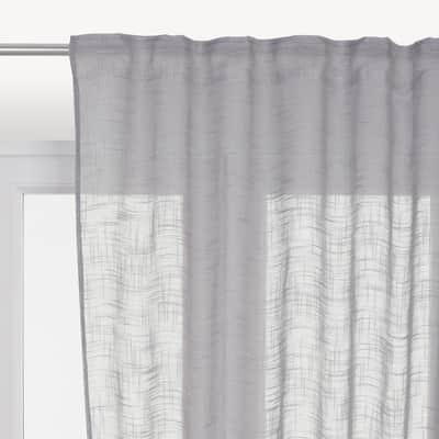 Tenda INSPIRE Amina lilla fettuccia con passanti nascosti 200x280 cm