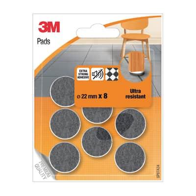Pattino 3M SP87A34 8 pezzi Ø 22 mm
