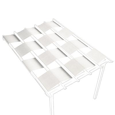 Telo di ricambio in acrilico per pergola Flamingo / Eagle (5 pezzi), bianco 70 x 350 cm