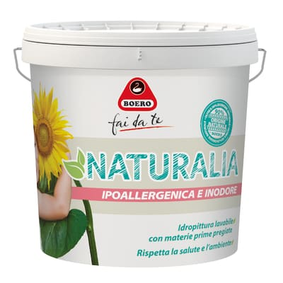 Pittura murale Naturalia BOERO 10 L bianco