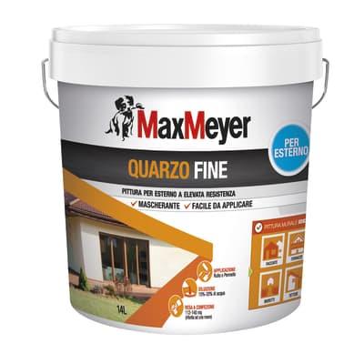 Pittura al quarzo MAX MEYER fine bianco 14 L