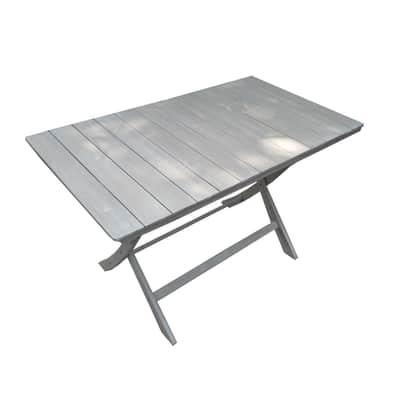 Tavolo rettangolare Gallipoli NATERIAL in legno L 70 x P 120 cm