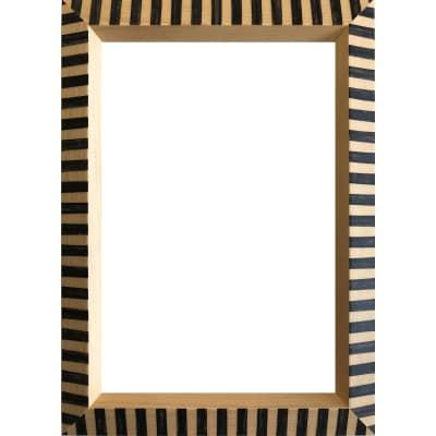Cornice Florence nero per foto da 20X25 cm