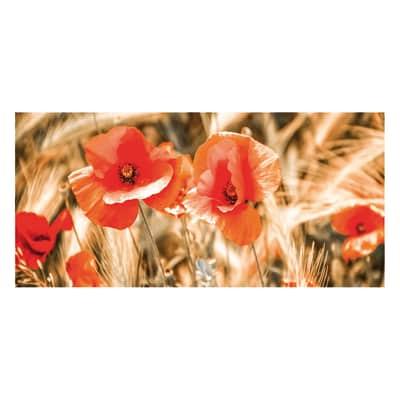 Quadro su tela Red Impression 90x190 cm