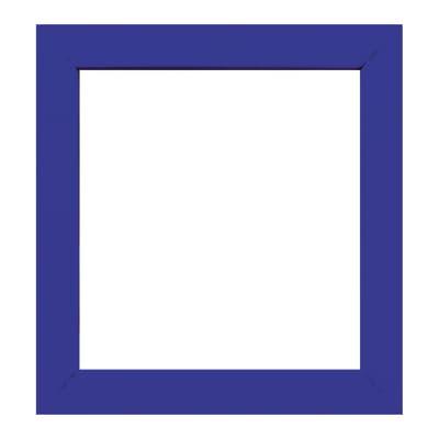 Cornice INSPIRE Easy blu per foto da 14X14 cm