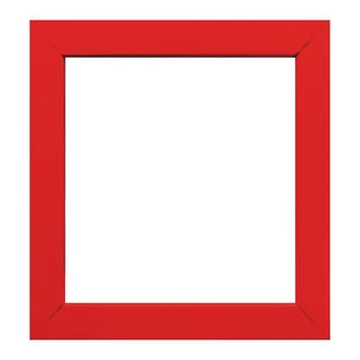Cornice INSPIRE Easy rosso per foto da 14x14 cm