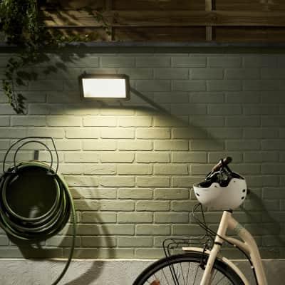 Proiettore LED integrato in alluminio, antracite, 100W 9000LM IP65 INSPIRE