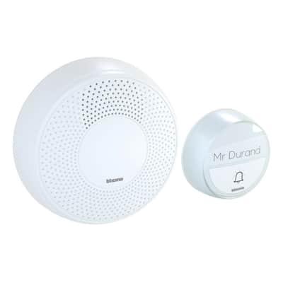 Campanello senza filo BTICINO Comfort wireless bianco