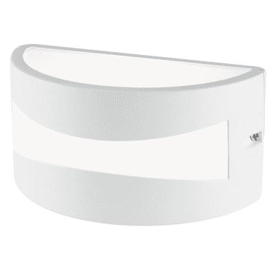 Applique Tibet LED integrato in alluminio, bianco, 10W 700LM IP54