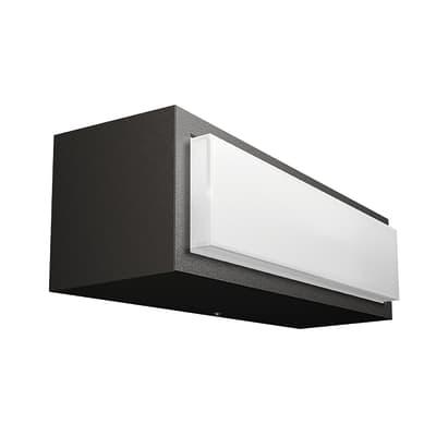Plafoniera Stratosphere LED integrato in alluminio, grigio, 4.5W 500LM IP44 PHILIPS