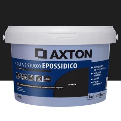 Stucco in pasta Epossidica AXTON 3 kg nero