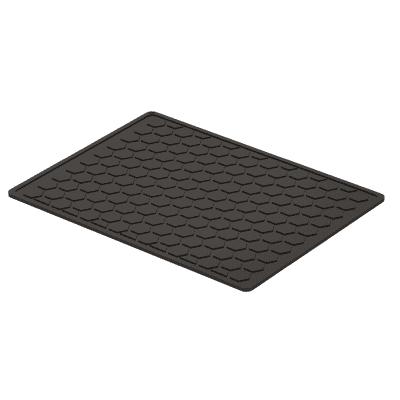 Tappeto per lavello plastica grigio L 30 x H 0.7 cm
