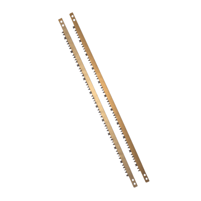 Lama per sega ad arco GEOLIA per legno verde, in acciaio 530 mm 2 pezzi