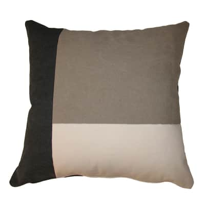 Cuscino Patch grigio 50x50 cm